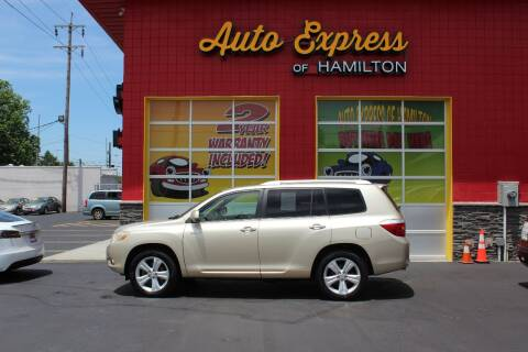 2008 Toyota Highlander for sale at AUTO EXPRESS OF HAMILTON LLC in Hamilton OH