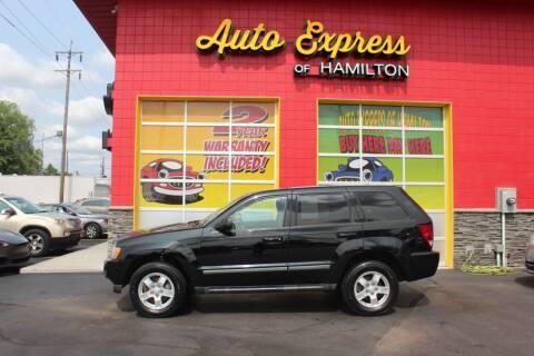 2007 Jeep Grand Cherokee for sale at AUTO EXPRESS OF HAMILTON LLC in Hamilton OH