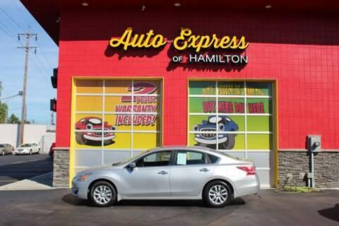 2013 Nissan Altima for sale at AUTO EXPRESS OF HAMILTON LLC in Hamilton OH
