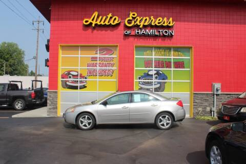 2008 Pontiac G6 for sale at AUTO EXPRESS OF HAMILTON LLC in Hamilton OH