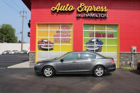 2008 Honda Accord for sale at AUTO EXPRESS OF HAMILTON LLC in Hamilton OH