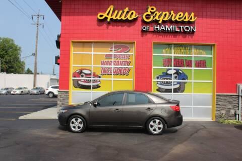 2010 Kia Forte for sale at AUTO EXPRESS OF HAMILTON LLC in Hamilton OH