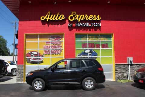 2009 Hyundai Santa Fe for sale at AUTO EXPRESS OF HAMILTON LLC in Hamilton OH