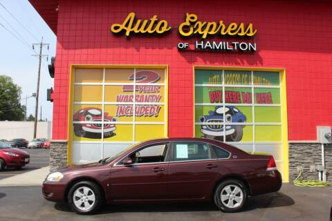 2007 Chevrolet Impala for sale at AUTO EXPRESS OF HAMILTON LLC in Hamilton OH