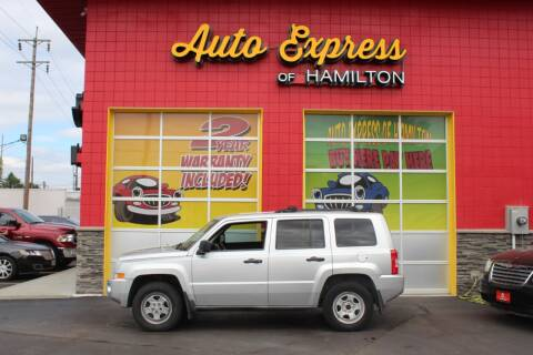 2007 Jeep Patriot for sale at AUTO EXPRESS OF HAMILTON LLC in Hamilton OH