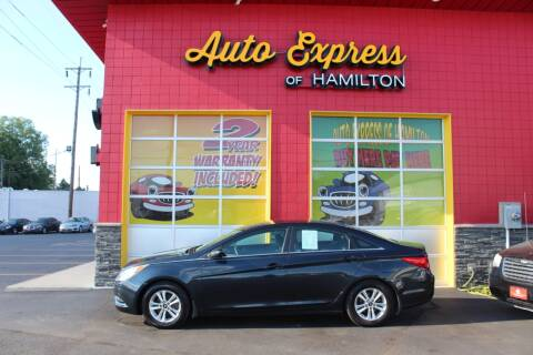 2012 Hyundai Sonata for sale at AUTO EXPRESS OF HAMILTON LLC in Hamilton OH