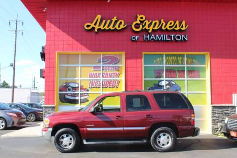2001 GMC Yukon for sale at AUTO EXPRESS OF HAMILTON LLC in Hamilton OH