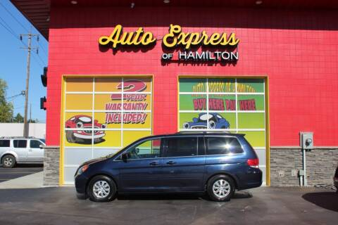 2008 Honda Odyssey for sale at AUTO EXPRESS OF HAMILTON LLC in Hamilton OH
