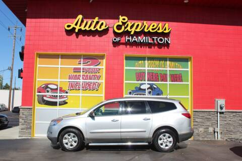 2010 Chevrolet Traverse for sale at AUTO EXPRESS OF HAMILTON LLC in Hamilton OH
