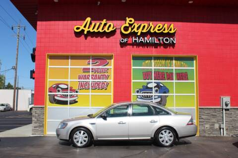 2008 Ford Taurus for sale at AUTO EXPRESS OF HAMILTON LLC in Hamilton OH