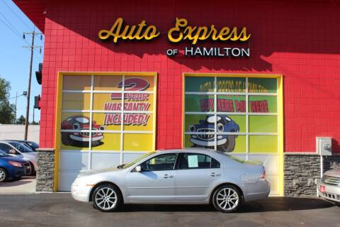 2009 Ford Fusion for sale at AUTO EXPRESS OF HAMILTON LLC in Hamilton OH