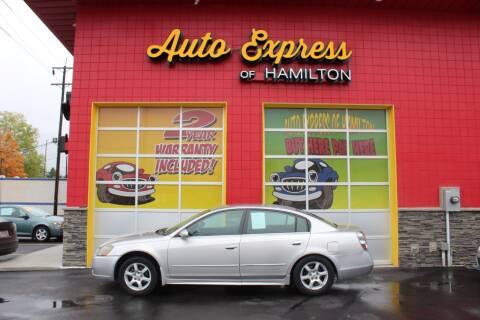 2005 Nissan Altima for sale at AUTO EXPRESS OF HAMILTON LLC in Hamilton OH