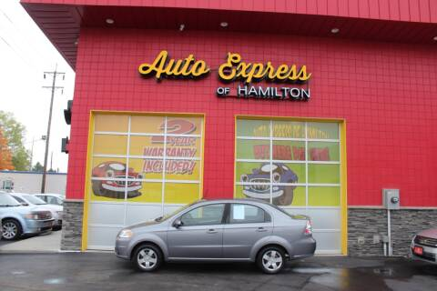 2010 Chevrolet Aveo for sale at AUTO EXPRESS OF HAMILTON LLC in Hamilton OH