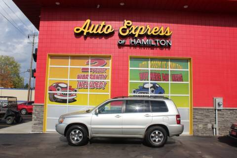 2004 Toyota Highlander for sale at AUTO EXPRESS OF HAMILTON LLC in Hamilton OH