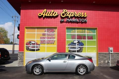 2008 Nissan Altima for sale at AUTO EXPRESS OF HAMILTON LLC in Hamilton OH
