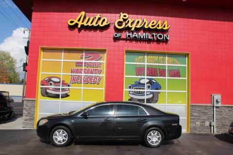 2008 Chevrolet Malibu for sale at AUTO EXPRESS OF HAMILTON LLC in Hamilton OH
