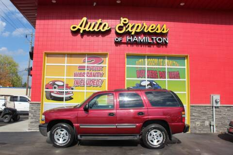 2004 Chevrolet Tahoe for sale at AUTO EXPRESS OF HAMILTON LLC in Hamilton OH