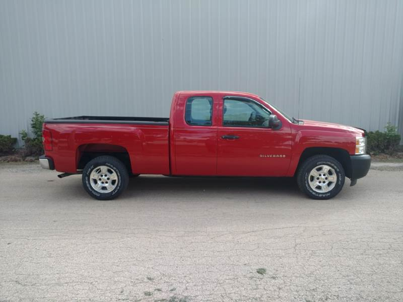 2010 Chevrolet Silverado 1500 4x2 Work Truck 4dr Extended Cab 6.5 ft. SB - Amboy IL