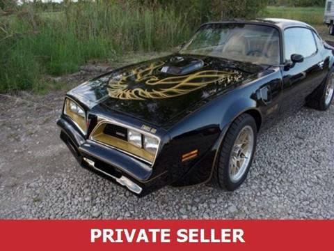 1977 Pontiac Trans Am for sale in Amboy, IL