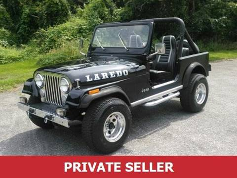 1985 Jeep CJ-5 for sale in Amboy, IL