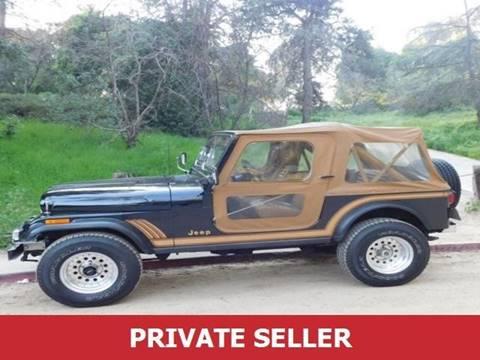 1986 Jeep CJ-7 for sale in Amboy, IL