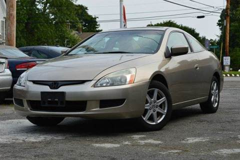 2003 Honda Accord for sale at AUTO IMPORTS UNLIMITED INC in Rowley MA