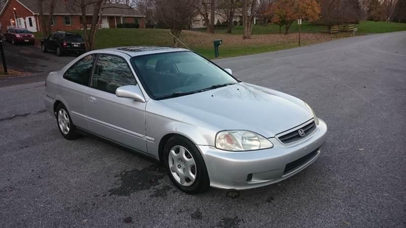 civic ex coupe 2000