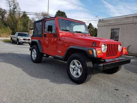 1997 Jeep Wrangler for sale in Carlisle, PA