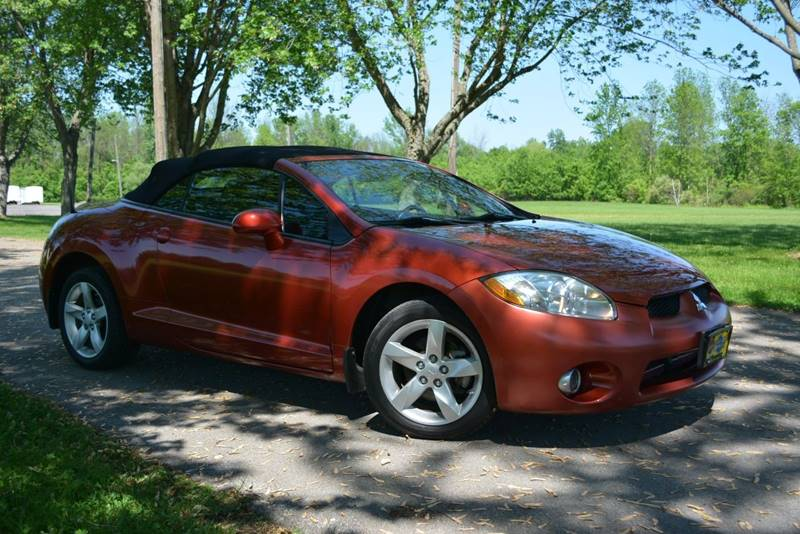 2008 Mitsubishi Eclipse Spyder For Sale At Murrays Elite Imports Inc. In  Spencerport NY