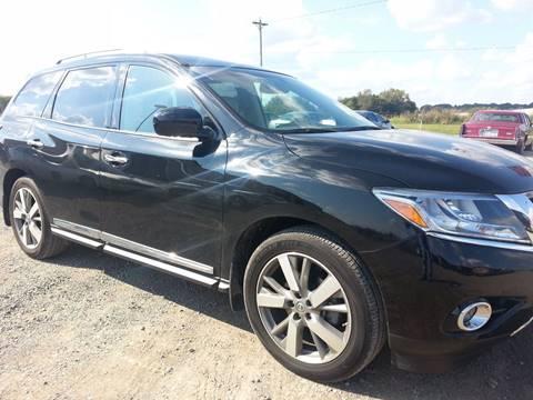 2014 Nissan Pathfinder for sale in Franklin, KY