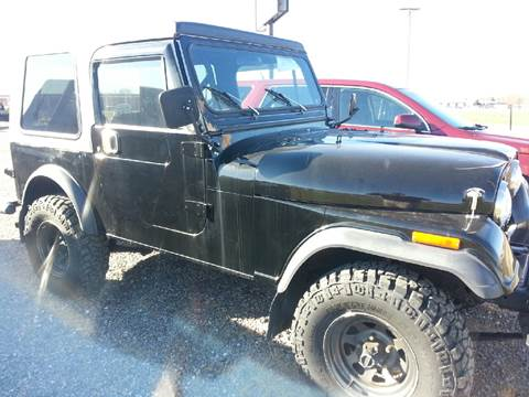 1984 Jeep CJ-7 for sale in Franklin, KY