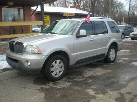 2003 Lincoln Aviator for sale at Automotive Center in Detroit MI