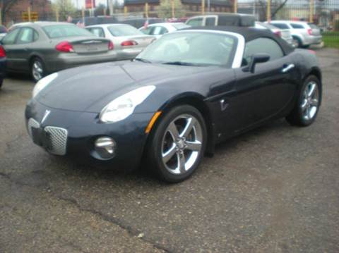 2007 Pontiac Solstice for sale at Automotive Center in Detroit MI