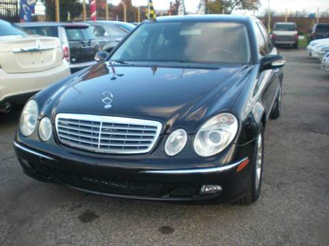 2006 Mercedes-Benz E-Class for sale at Automotive Center in Detroit MI