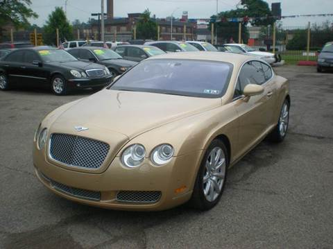 2005 Bentley Continental GT for sale at Automotive Center in Detroit MI
