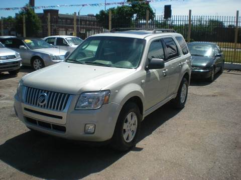 2009 Mercury Mariner for sale at Automotive Center in Detroit MI