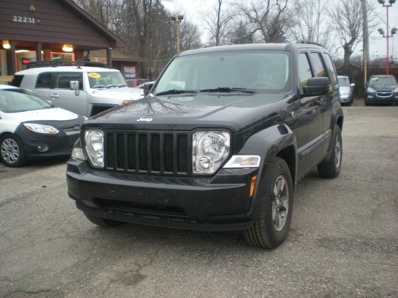 2008 jeep liberty 4x4 sport 4dr suv in detroit mi automotive center rh automotivecenterllc net 2008 Jeep Liberty Overhead Console 2008 Jeep Liberty Hood Prop Rod Location