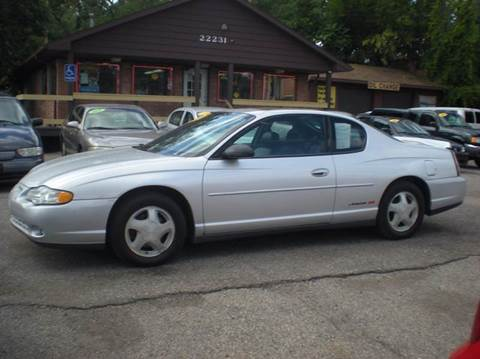 2004 Chevrolet Monte Carlo for sale in Detroit, MI