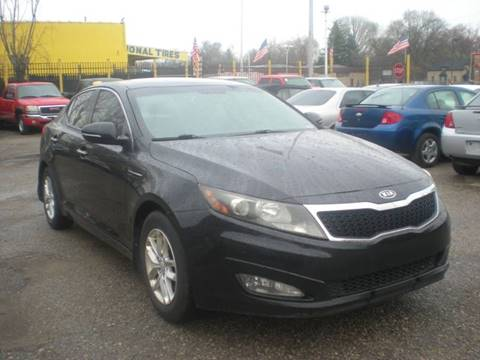 2012 Kia Optima for sale at Automotive Center in Detroit MI