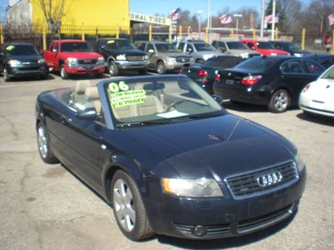 2006 Audi A4 for sale at Automotive Center in Detroit MI