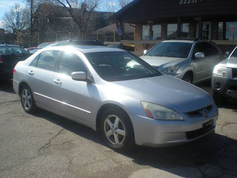 2003 Honda Accord for sale at Automotive Center in Detroit MI