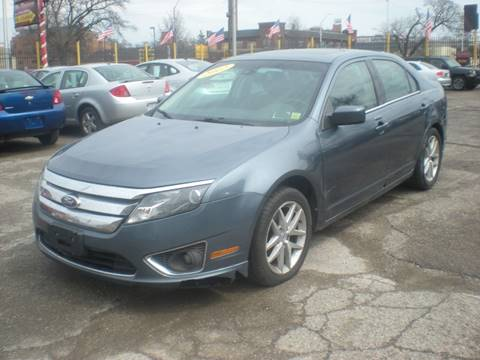 2012 Ford Fusion for sale at Automotive Center in Detroit MI