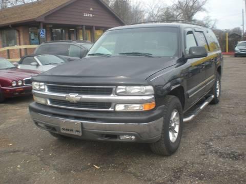 2001 Chevrolet Suburban for sale at Automotive Center in Detroit MI