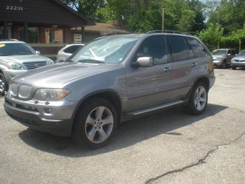 2006 BMW X5 for sale at Automotive Center in Detroit MI