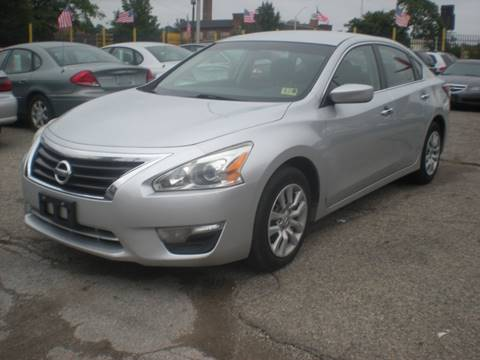 2015 Nissan Altima for sale at Automotive Center in Detroit MI