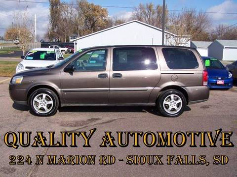 2008 Chevrolet Uplander for sale in Sioux Falls, SD