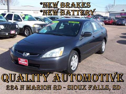 2005 Honda Accord for sale in Sioux Falls, SD