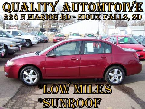 2006 Saturn Ion for sale at Quality Automotive in Sioux Falls SD