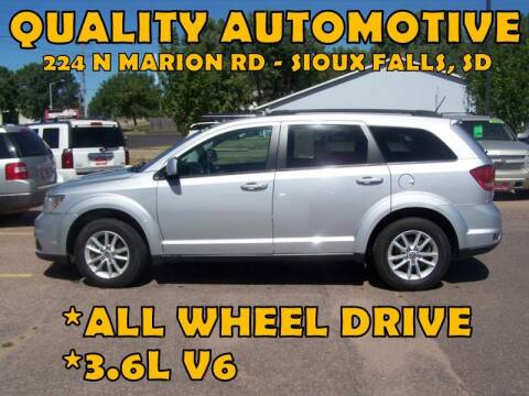 2014 Dodge Journey for sale at Quality Automotive in Sioux Falls SD