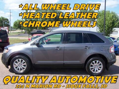 2010 Ford Edge for sale at Quality Automotive in Sioux Falls SD
